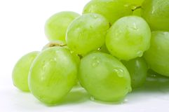 Closeup grape on white background Royalty Free Stock Photography