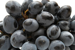 Closeup of grapes cluster Royalty Free Stock Images