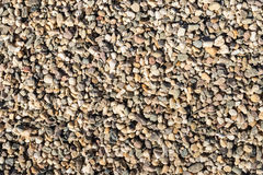 Closeup of gravel in varied colors and shapes Royalty Free Stock Image