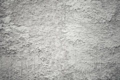 Closeup gray concrete wall texture with plaster Stock Photography