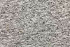 Closeup gray cotton t-shirt fabric Royalty Free Stock Photo