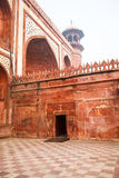 Closeup on Great Gate in Agra, India Royalty Free Stock Photos