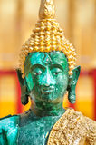 Closeup of green Buddha statue at Wat Phra That Doi Suthep, Chiang Mai, Thailand Royalty Free Stock Photography