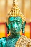 Closeup of green Buddha statue at Wat Phra That Doi Suthep, Chiang Mai, Thailand Royalty Free Stock Photography