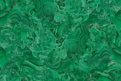 Closeup green malachite stone with natural pattern royalty free illustration