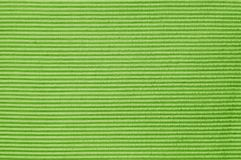 Closeup green or olive green color fabric texture. Green fabric strip line pattern design or upholstery abstract background royalty free stock photo