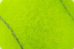 Closeup of green tennis ball Stock Images