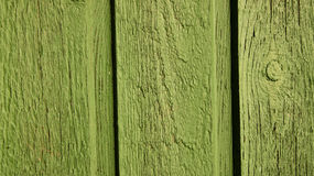 Closeup of green wooden wall Royalty Free Stock Image