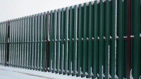 Closeup of grey block wall. stock video