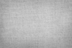 Blank canvas. Closeup of grey canvas texture Royalty Free Stock Photo