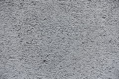 Closeup of grey concrete wall surface Royalty Free Stock Photography