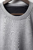 Closeup of grey jumper Royalty Free Stock Photography