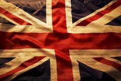 Union Jack. Closeup of grunge Union Jack flag Royalty Free Stock Image