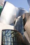 Closeup of the Guggenheim, Bilbao Stock Photo