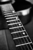 Closeup of guitar Royalty Free Stock Photography