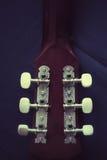 Closeup of guitar Stock Photos