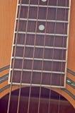 Closeup of Guitar Royalty Free Stock Image