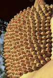 Closeup hair of Buddha statue Royalty Free Stock Photos