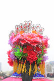 Hair decoration for Spring Festival yangko dance in china Stock Image