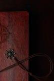 Closeup of half travel diary Royalty Free Stock Photography
