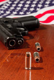 Second amendment concept Stock Photo