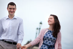 Closeup of happy dating couple Royalty Free Stock Photo
