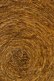 Closeup of a hay bale Stock Photos