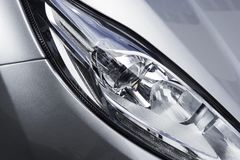 Closeup head light of modern car Royalty Free Stock Image