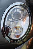 Closeup of a head light Stock Photos