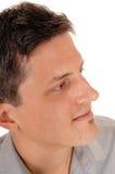 Closeup head shoot of man. Stock Photos
