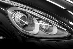 Closeup headlights. Stock Image