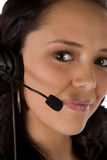 Closeup headset Stock Photos