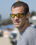 Closeup headshot of man wearing sunglasses Royalty Free Stock Photo