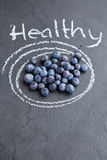 Healthy blueberries Royalty Free Stock Photography