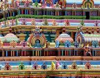 CLOSEUP OF HINDU SRIRANGAM TEMPLE Royalty Free Stock Images
