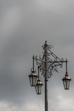 Closeup of the historic Three Lanterns in Auckland. Royalty Free Stock Photos