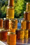 Closeup of Homemade honey Royalty Free Stock Photo