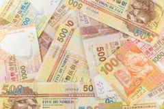 Closeup Hong Kong Dollar Arkivbilder