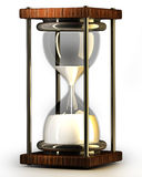 Closeup of hourglass Stock Image