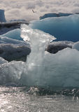 Closeup on ice formation Royalty Free Stock Image