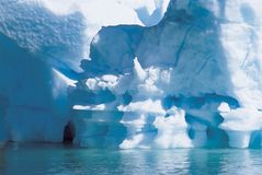 Closeup Of Iceberg Stock Images