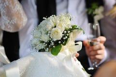 Closeup image of beautiful wedding bouquet Royalty Free Stock Photo