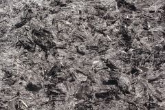 Closeup image of black chipboard Royalty Free Stock Images