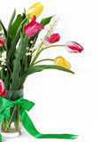 Closeup image Bouquet of spring flower Royalty Free Stock Image