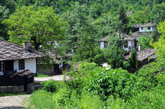 Closeup Image of Bozhentsi Village Royalty Free Stock Image