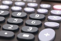 Closeup image of calculator. Keyboard royalty free stock photo