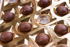 Closeup image of candy Royalty Free Stock Photo