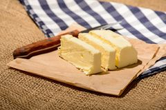 Closeup image of a delicious butter Royalty Free Stock Photo