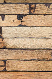 Closeup image of dirty hardwood plank for background user Stock Images
