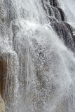 Closeup image of falling water. Royalty Free Stock Photography